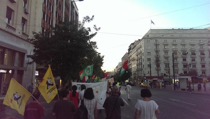 Πορεία Κουρδιστάν 1-9-2015